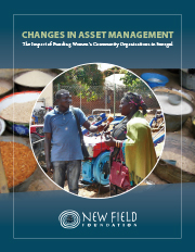 Changes in Asset Management: The Impact of Funding Women's Community Organizations In Senegal